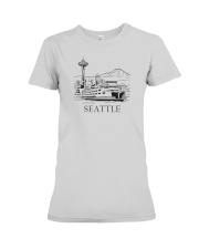 Seattle - Washington Premium Fit Ladies Tee thumbnail