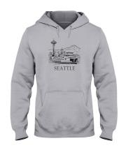 Seattle - Washington Hooded Sweatshirt thumbnail