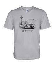 Seattle - Washington V-Neck T-Shirt thumbnail