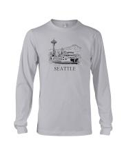 Seattle - Washington Long Sleeve Tee thumbnail