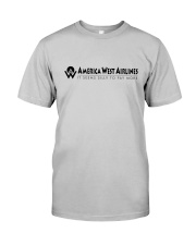 America West Airlines Classic T-Shirt front