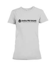 America West Airlines Premium Fit Ladies Tee thumbnail