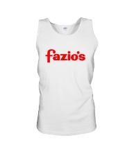 Fazio's Unisex Tank thumbnail