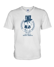 The Strutting Duck - Auburn Alabama V-Neck T-Shirt thumbnail