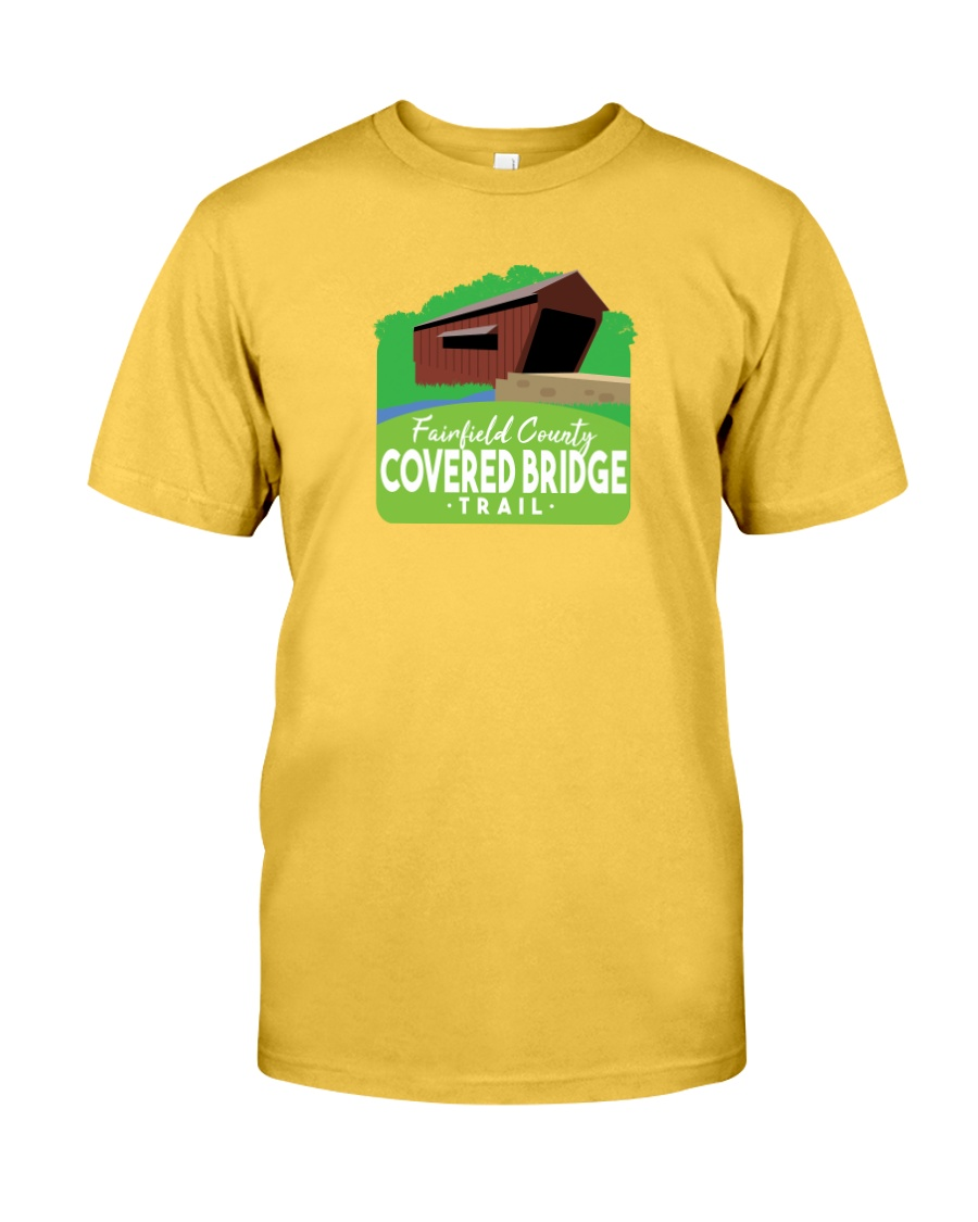 Covered Bridge Trail - Fairfield County Ohio Classic T-Shirt