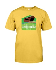 Covered Bridge Trail - Fairfield County Ohio Classic T-Shirt front