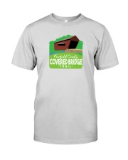 Covered Bridge Trail - Fairfield County Ohio Premium Fit Mens Tee thumbnail