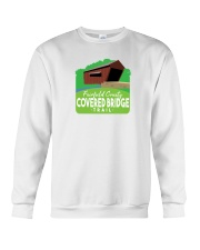 Covered Bridge Trail - Fairfield County Ohio Crewneck Sweatshirt thumbnail
