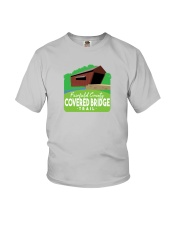 Covered Bridge Trail - Fairfield County Ohio Youth T-Shirt thumbnail