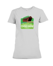 Covered Bridge Trail - Fairfield County Ohio Premium Fit Ladies Tee thumbnail