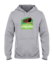 Covered Bridge Trail - Fairfield County Ohio Hooded Sweatshirt thumbnail