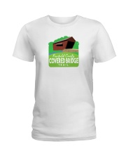 Covered Bridge Trail - Fairfield County Ohio Ladies T-Shirt thumbnail