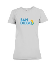 San Diego - California Premium Fit Ladies Tee tile