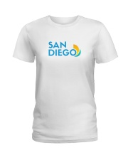 San Diego - California Ladies T-Shirt tile