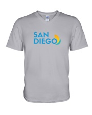 San Diego - California V-Neck T-Shirt thumbnail