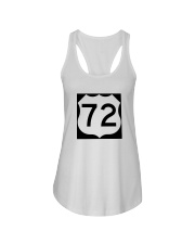 Highway 72 Ladies Flowy Tank thumbnail