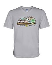 South Dakota V-Neck T-Shirt thumbnail