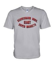 Schwegmann Brothers Giant Super Markets V-Neck T-Shirt thumbnail