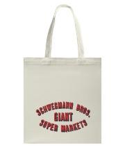 Schwegmann Brothers Giant Super Markets Tote Bag thumbnail