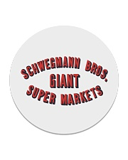 Schwegmann Brothers Giant Super Markets Circle Coaster thumbnail