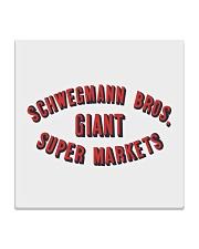 Schwegmann Brothers Giant Super Markets Square Coaster thumbnail