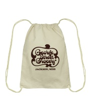 George Street Grocery - Jackson Mississippi Drawstring Bag thumbnail