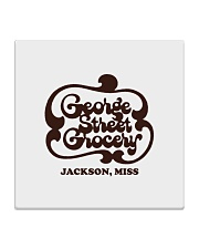 George Street Grocery - Jackson Mississippi Square Coaster thumbnail