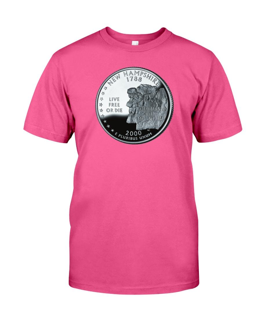 US Quarter - New Hampshire 2000 Classic T-Shirt