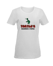 Turtle's Records and Tapes Ladies T-Shirt women-premium-crewneck-shirt-front