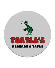 Turtle's Records and Tapes Circle Coaster thumbnail