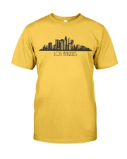 The Los Angeles Skyline Classic T-Shirt front