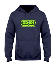 WZZQ Jackson's Album Station Hooded Sweatshirt front