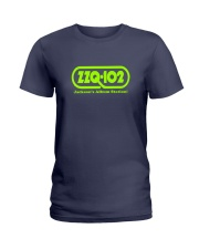 WZZQ Jackson's Album Station Ladies T-Shirt thumbnail