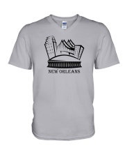 New Orleans - Louisiana V-Neck T-Shirt thumbnail