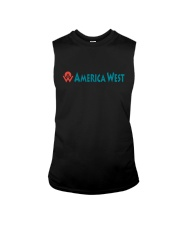 America West Airlines Sleeveless Tee thumbnail