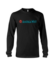 America West Airlines Long Sleeve Tee thumbnail