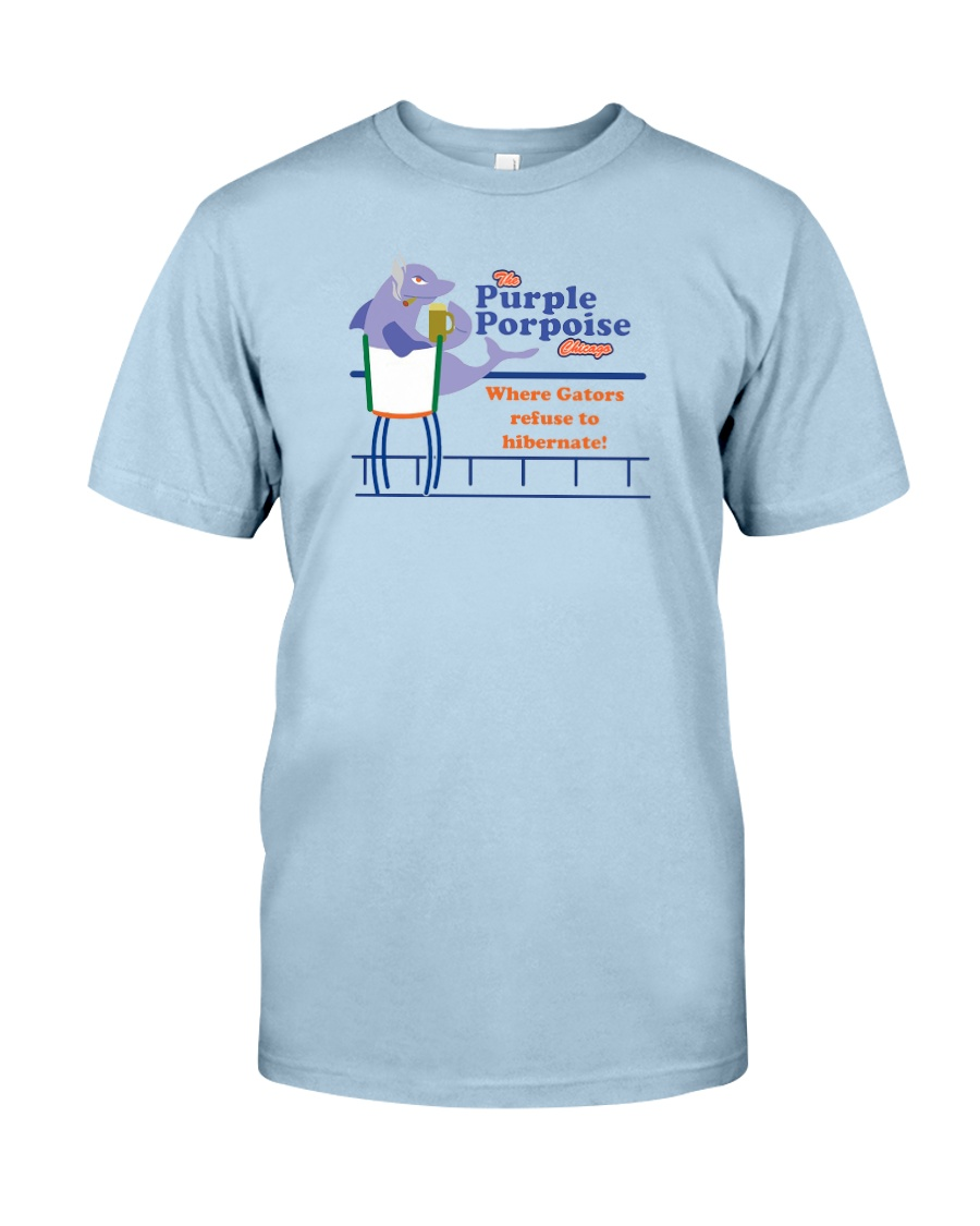 The Purple Porpoise - Chicago Illinois Classic T-Shirt