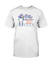 The Purple Porpoise - Chicago Illinois Premium Fit Mens Tee thumbnail