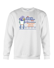 The Purple Porpoise - Chicago Illinois Crewneck Sweatshirt thumbnail