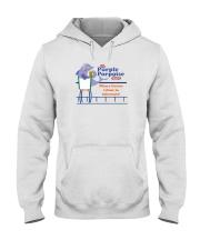 The Purple Porpoise - Chicago Illinois Hooded Sweatshirt thumbnail