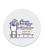 The Purple Porpoise - Chicago Illinois Circle Coaster thumbnail