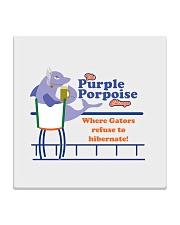 The Purple Porpoise - Chicago Illinois Square Coaster thumbnail