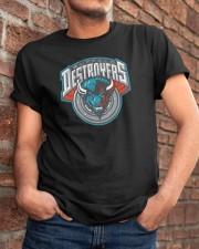 Buffalo Destroyers Classic T-Shirt apparel-classic-tshirt-lifestyle-26