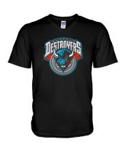 Buffalo Destroyers V-Neck T-Shirt thumbnail