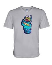 Lake Tahoe V-Neck T-Shirt thumbnail
