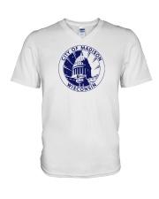 Madison - Wisconsin V-Neck T-Shirt thumbnail
