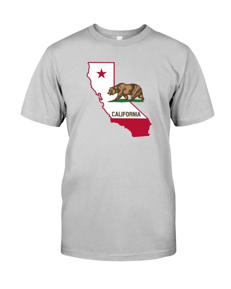 State Flag of California Classic T-Shirt