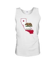 State Flag of California Unisex Tank thumbnail