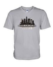 The Los Angeles Skyline V-Neck T-Shirt thumbnail
