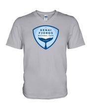 Kenai Fjords National Park - Alaska V-Neck T-Shirt thumbnail